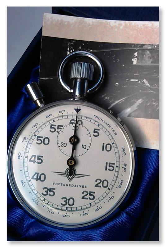 tachymeter Stopwatch vintagedriver