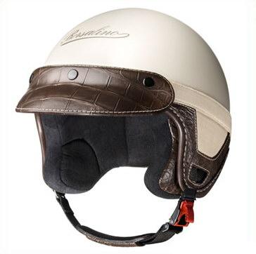 Schicker Helm für das Cabrio. Der Panama Cocodrillo von Borsalino