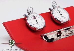 Rallyeboard Countdown Timer Mechanische Stoppuhr