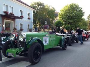 Oldtimer-Rallye-Ennstal Start