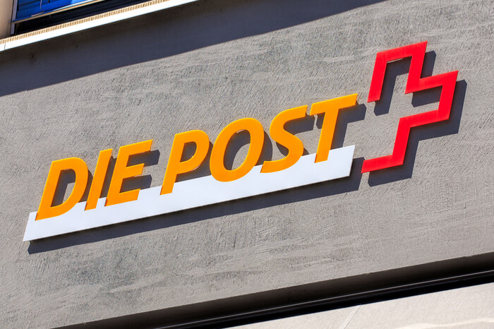Logo der Schweizerischen Post