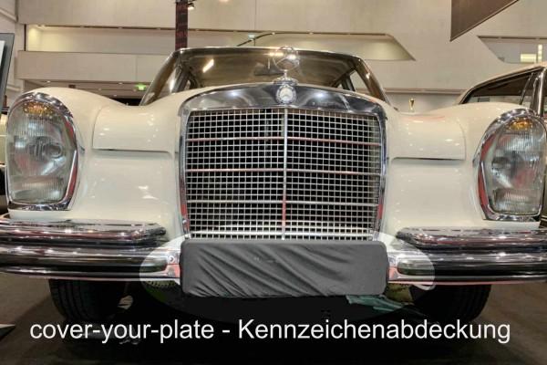 Kennzeichen Abdeckung grau, für Garage Messe Ausstellung Fotoshooting