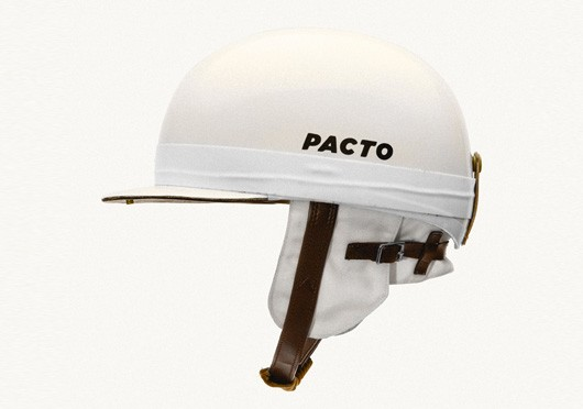 Pacto Retro vintage Helm Carrera everoak style hande made reproduction