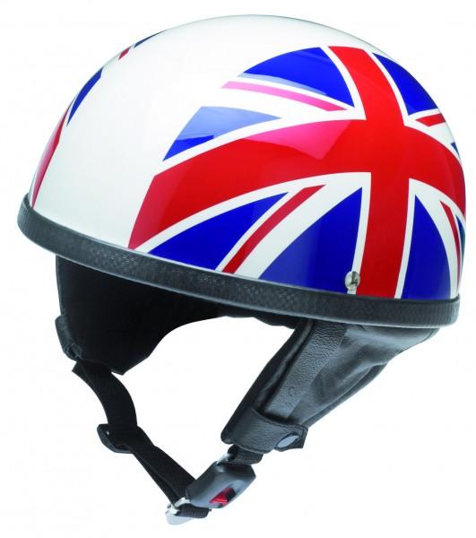 Union jack Halbschalenhelm mit UK-Flagge, Rollerhelm, Helm für Vespa, Oldtimer, Moped | Vintagedriver