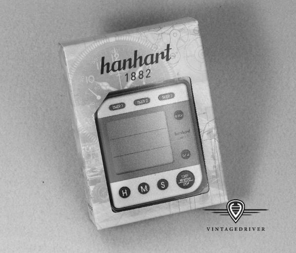 hanhart 3-fach Digital-Timer Oldtimer Rallye Zeitmessung günstig