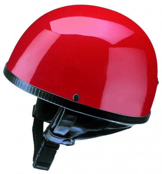 Halbschalenhelm Halbschale Braincap lack rot Retro Vintage Roller Vespa
