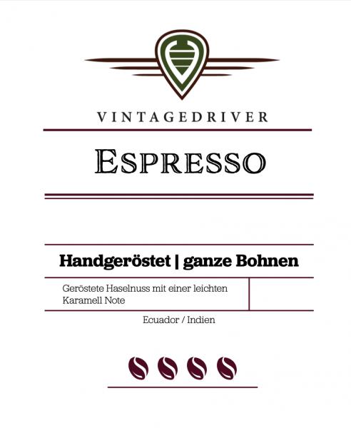 Espresso, ganze Bohnen