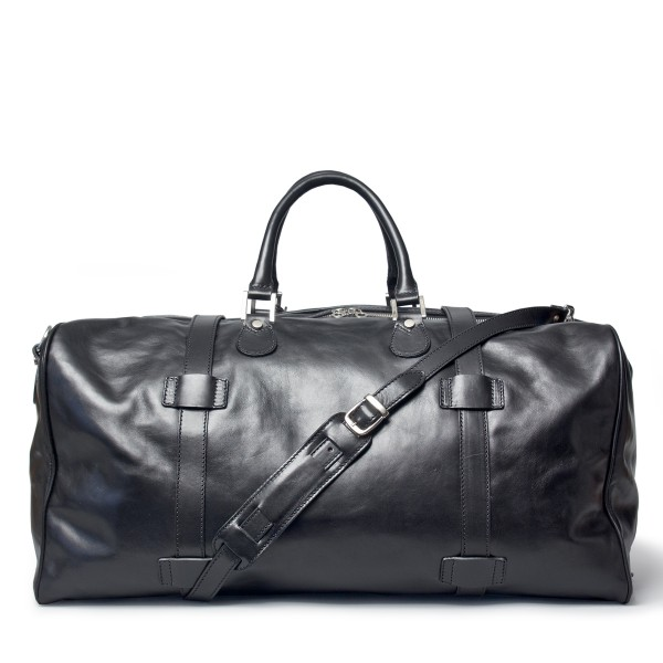XL-Reisetasche-Weekender-Leder-schwarz