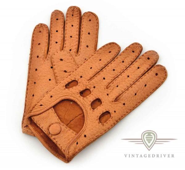 Fahrerhandschuhe aus Peccary Leder