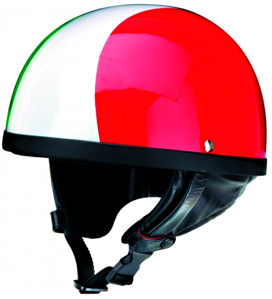 Halbschalenhelm italien rot grün weiss Italia Moto Guzzi Vespa Piaggio Roller Motorrad