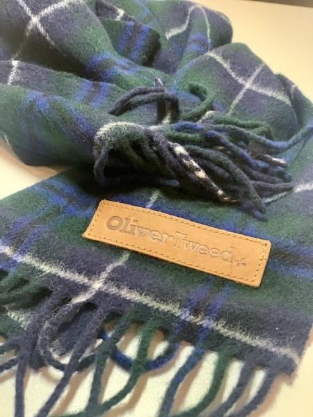 Klassische Tartan Schals aus 100% Lammwolle
