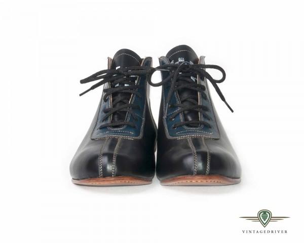 Rennfahrerschuhe Boots racer driver shoes Fahrerschuhe Pacto vintage retro 50er