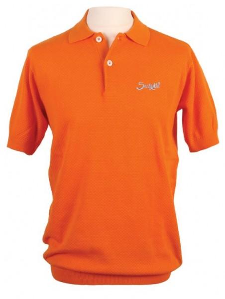 Original Suixtil Poloshirt Nassau 50er Jahre Stil Stirling Moss Style
