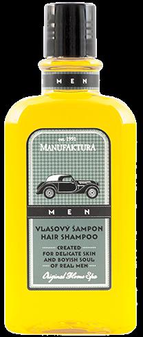 Herren Shampoo Naturkosmetik Oldtimer Motiv