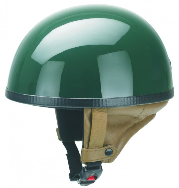 Halbschalenhelm in british racing green RB-500