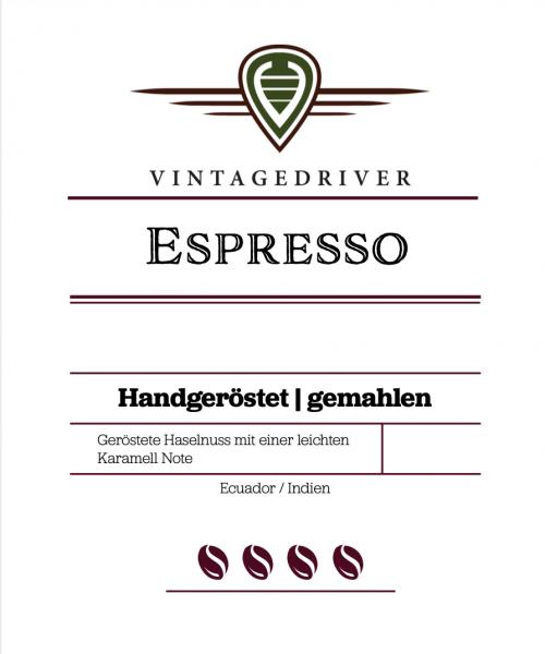 VINTAGEDRIVER Espresso