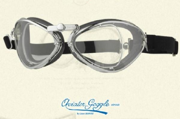Aviator Fahrerbrille 444 vintage schwarz