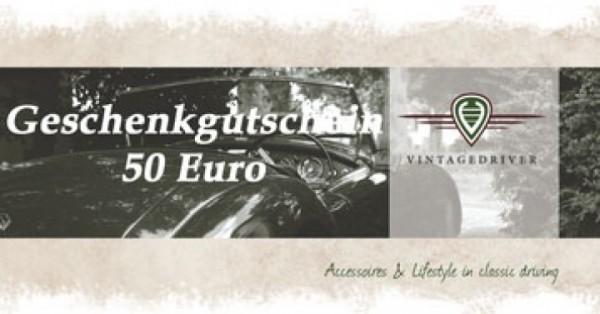 Geschenkgutschein 50,00€